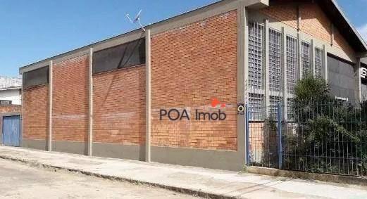 Galpão Para Alugar, 300 M² Por R$ 4.800/mês - Santa Maria Goretti - Porto Alegre/rs - Ga0013