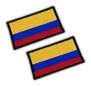 Bandera Colombia Bordado Parche Para Pegar