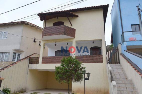 Casa Com 3 Dormitórios Para Alugar, 289 M² Por R$ 3.200/mês - Nova Paulista - Jandira/sp - Ca1841