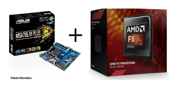 Kit Gamer Processador Amd Fx 8300+placa Asus M5a78m-usb 3.0
