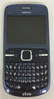 Nokia C3 - Só Funciona Vivo 2mp Wi-fi Teclado Qwerty - Usado