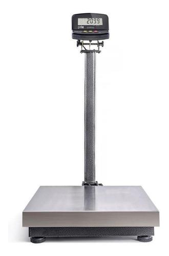 Balança comercial digital Toledo 2099 300kg com mastro 110V/220V prateado