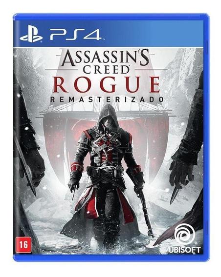 Assassins Creed Rogue Remasterizado Ps4 Mídia Física Lacrado