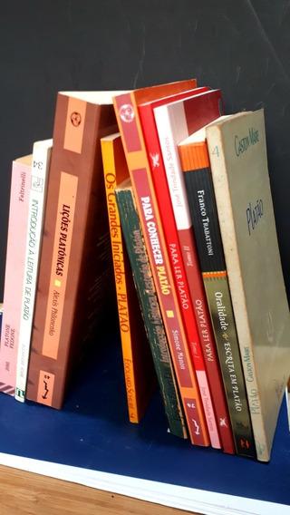 Lote 10 Titulos Platão Livros Platonismo Coleção Filosofia
