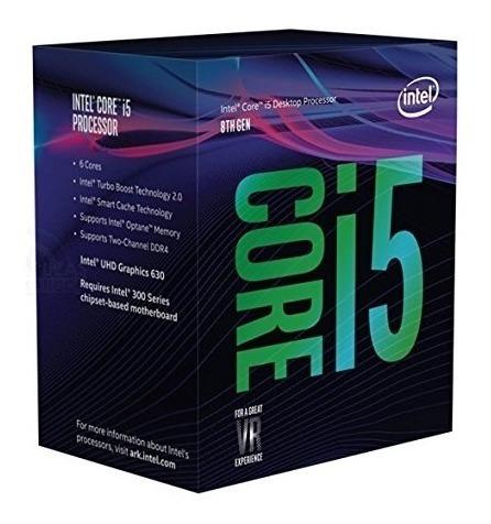 Procesador Intel Core I5-8400, Cofee Lake (8va. Gene), 2.8gh
