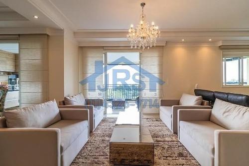 Apartamento Com 3 Dormitórios À Venda, 201 M² Por R$ 1.800.000,00 - Residencial Três (tamboré) - Santana De Parnaíba/sp - Ap4209