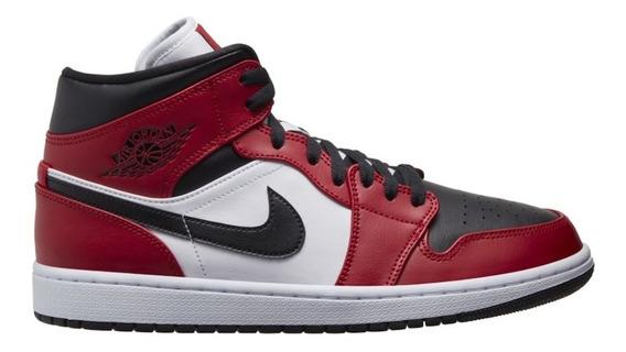 Air Jordan 1 Mid Chicago Black Toe Retro Og Low 3 4 5 6 11