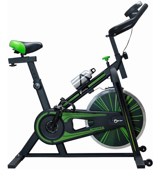 Bicicleta Spinning 10kg Centurfit Ajustable Cardio Fitness
