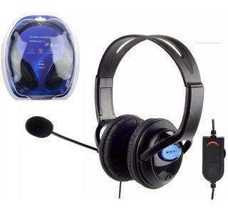 Auricular Gamer Headset Microfono Playstation 4 Ps4 Fortnite