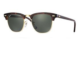 f048912dcb Óculos Ray Ban Clubmaster Rb3016 Marrom  Dourado - Óculos no Mercado ...