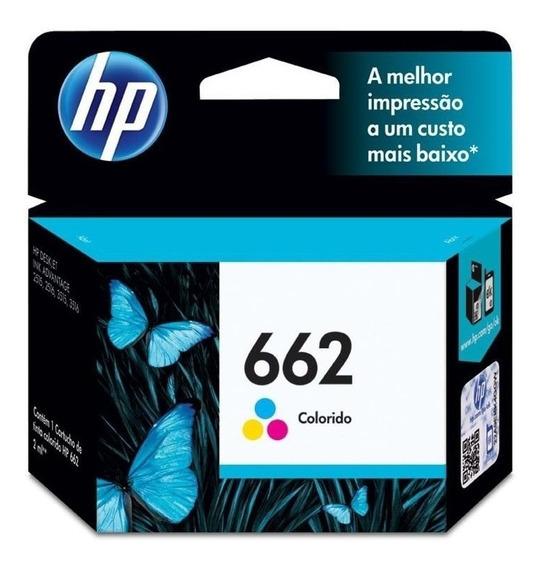 Cartucho Hp Verificable 662 Color 662c 1515 Tienda Fisica