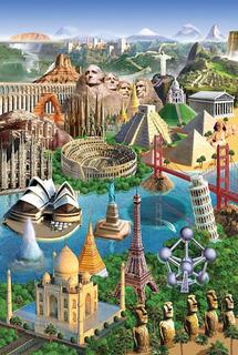 Puzzle Rompecabezas Tomax Maravillas Del Mundo 1000 Piezas