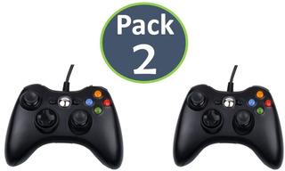 Pack X2 Unidades Control Xbox 360 Y Pc / Envío Gratis!