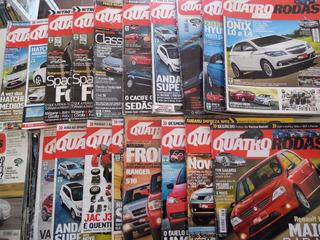 Revistas Quatro Rodas Lote Com 25 Unidades