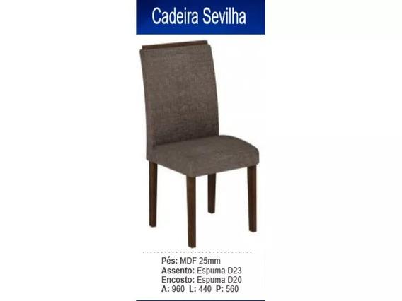 Cadeira Sevilha 100% Mdf (kit 2 Cadeiras) - Cel Móveis