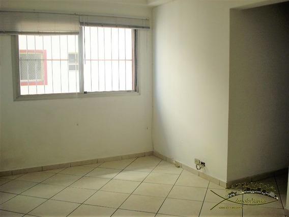 Apartamento Para Locação - 72m² Com 2 Dormitórios, Área De Serviço E 1 Vaga De Garagem - Chácara Agrindus - Taboão Da Serra - Sp - Ml1161