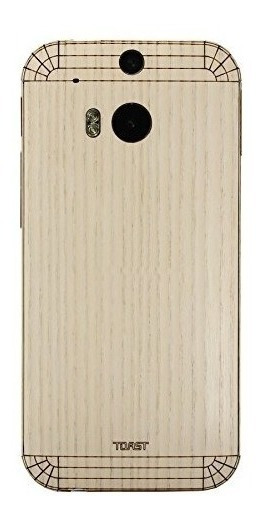 Toast Real Wood Cover Para Htc One (m8) - Embalaje Al Por Me