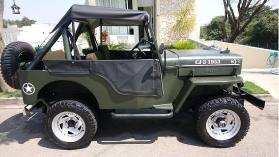 Ford Willys Cj-3 Importad