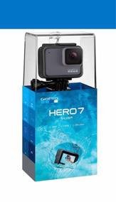 Filmadora Câmera Gopro Hero 7 Silver+cartão 32+bastão Brinde