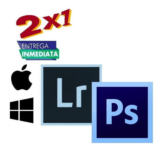 2x1 Adob Photoshp+ Lightrom 2020/19 (esp/ing) (mac - Win)