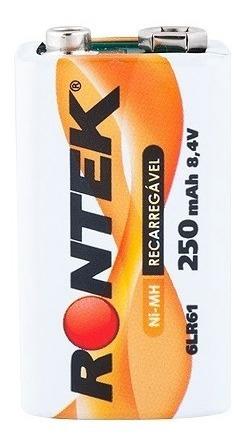 Bateria Recarregável Nimh 8,4v 250mah - Rontek