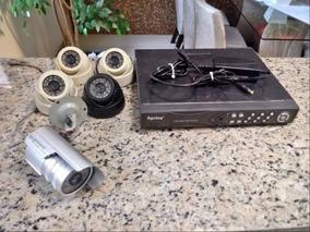 Kit Dvr Mais 5 Cameras