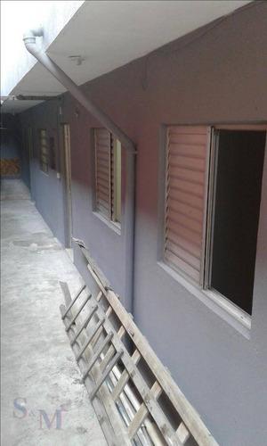 Imagem 1 de 18 de Casa Com 2 Dormitórios Para Alugar, 100 M² Por R$ 850,00/mês - Jardim Sônia Maria - Mauá/sp - Ca0656