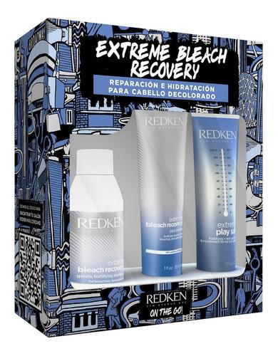 Imagen 1 de 4 de Kit Shampoo, Tratamiento Y Protector Término Cabello Dañado