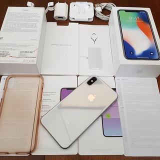 Apple iPhone X 64gb Blanco Factory Desbloqueados 10/10