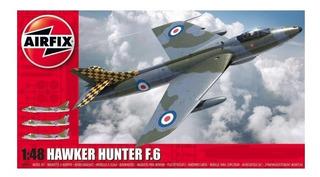 2019 Airfix Hawker Hunter F.6 1/48 Maqueta Exacta 3d