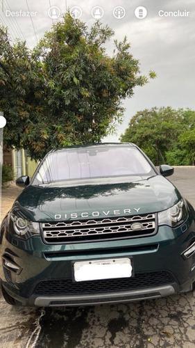 Imagem 1 de 10 de Land Rover Discovery Sport 2017 2.0 Td4 Se 5p