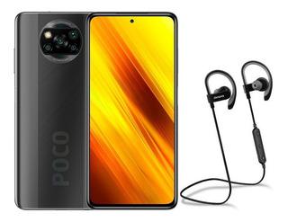 Xiaomi Poco X3 128gb / 6gb Ram + Carcasa + Aud Aiwa Aw770s