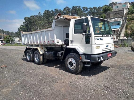 Caminhão Basculante Ford Cargo 2628 2006