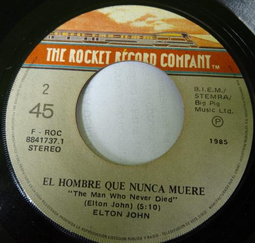 Elton John Nikita El Hombre Que Nunca Muere 45 Ricewithduck Mercado Libre