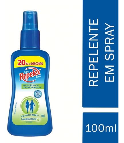 Super Spray Repelente Embalagem Econômica 100ml Repelex