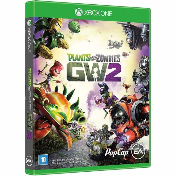 Plants Vs Zombies Gw2 - Xbox One - Novo - Mídia Física