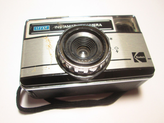 Camera Fotografica Kodak Instmatic Mod. 177xf Leia Anuncio