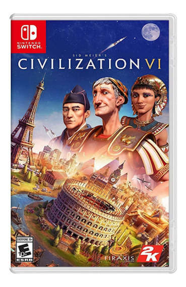 Civilization Vi 6 Midia Fisica Lacrado Nintendo Switch