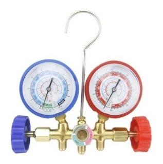 Manómetro Presión Alta Baja Gases Refrigeración