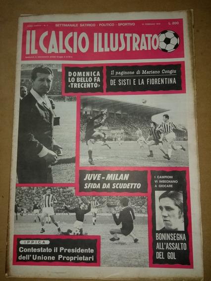 Il Calcio Illustrato Fiorentina-1972