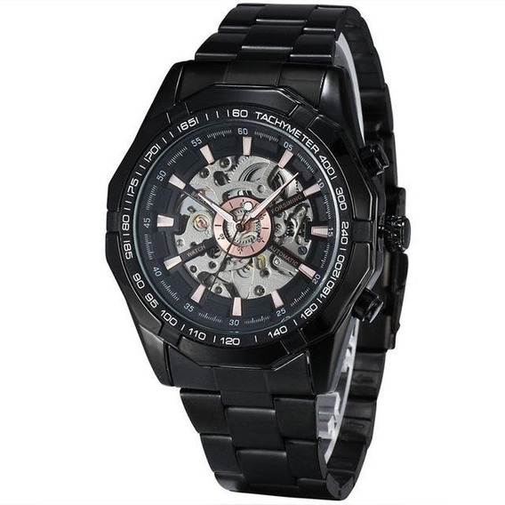 Skeleton Original Winner Automático Mecânico Mens Watch