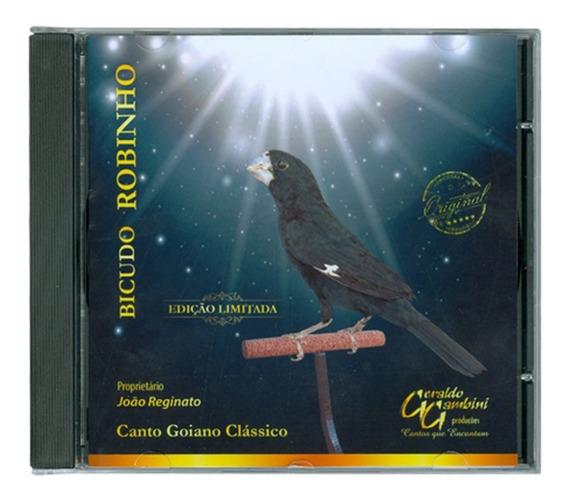 Cd Bicudo Robinho - Edição Limitada - Canto Goiano Clássico