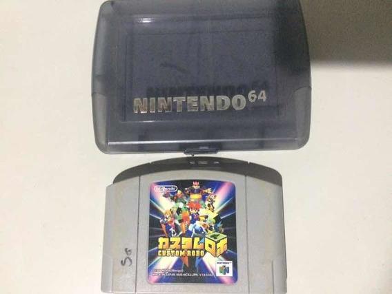 Cartucho Nintendo 64 Custom Robo Original Japones
