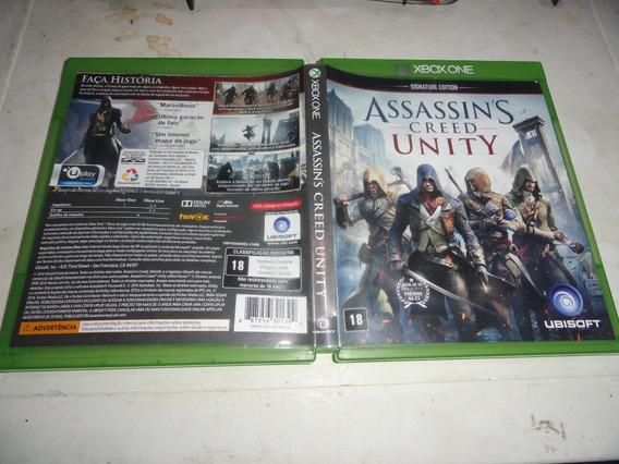 Assassins Creed Unit Midia Fisica Original Xbox One Brasil