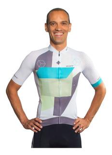Camisa Ert Premium Blanc Ciclismo Mtb Speed + Brinde