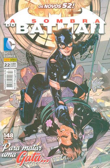 Hq A Sombra Do Batman Volume 22 Os Novos 52! Panini