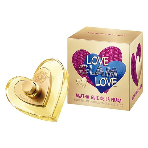 Love Glam Love Agatha Ruiz De La Prada - Perfume Feminino - Eau De Toilette 50ml