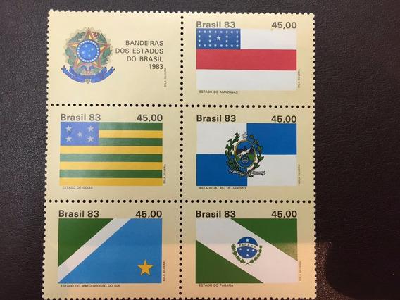 Selos Bandeiras Dos Estados Do Brasil 1983