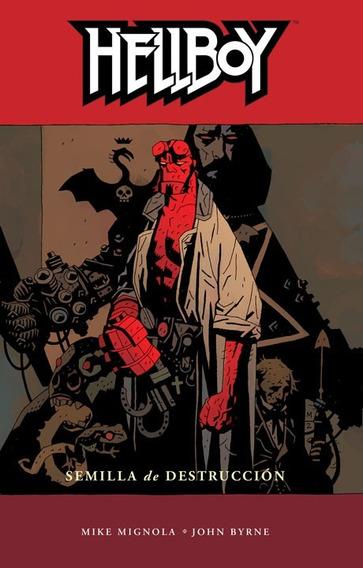 Comic Hellboy Vol. 1 Semilla De Destruccion Nuevo Sellado