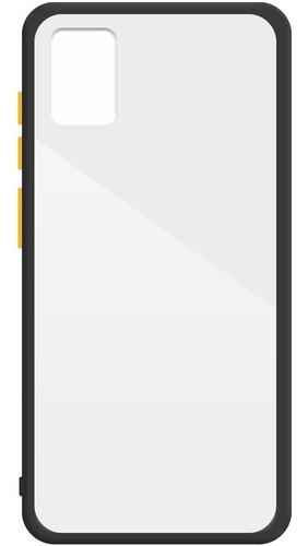 Capa Capinha Transparente Borda Colorida Samsung A50 | A51